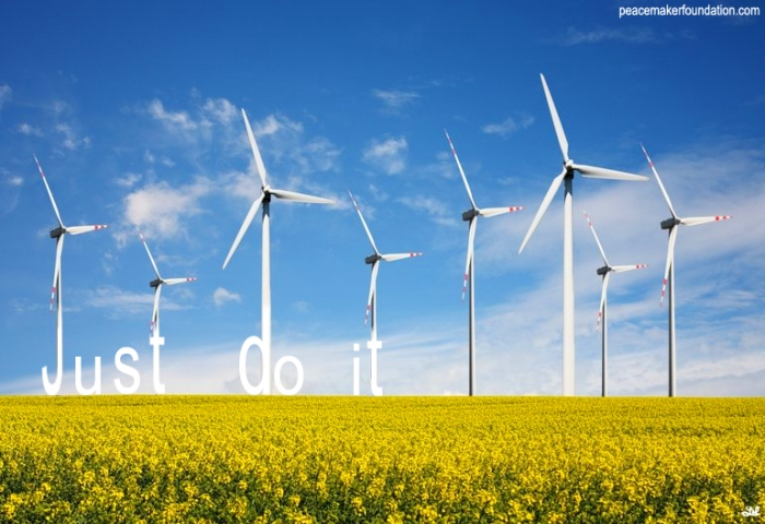 Wind energy.  The answer is blowing in the wind. Just do it.