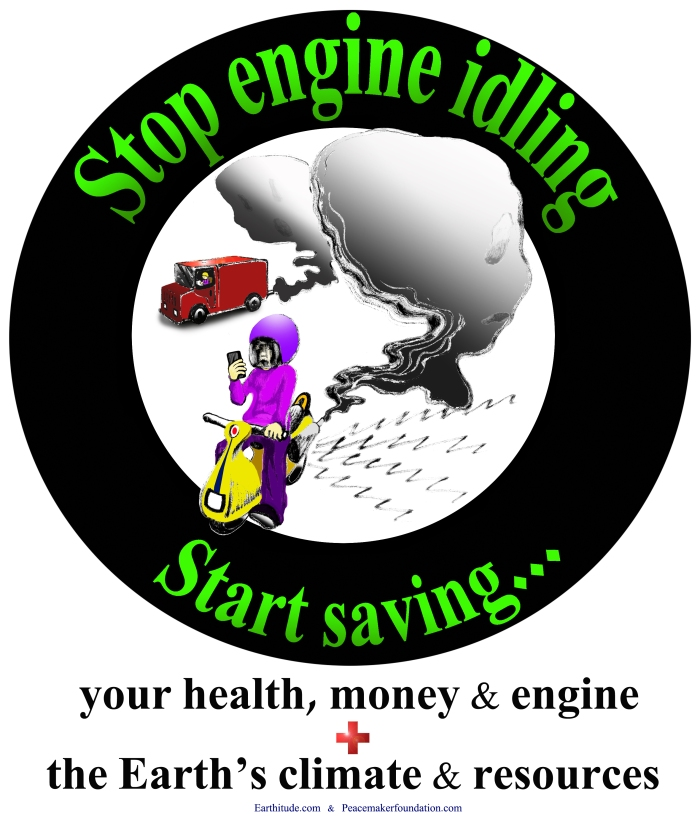Turn off your engines sticker or poster 2