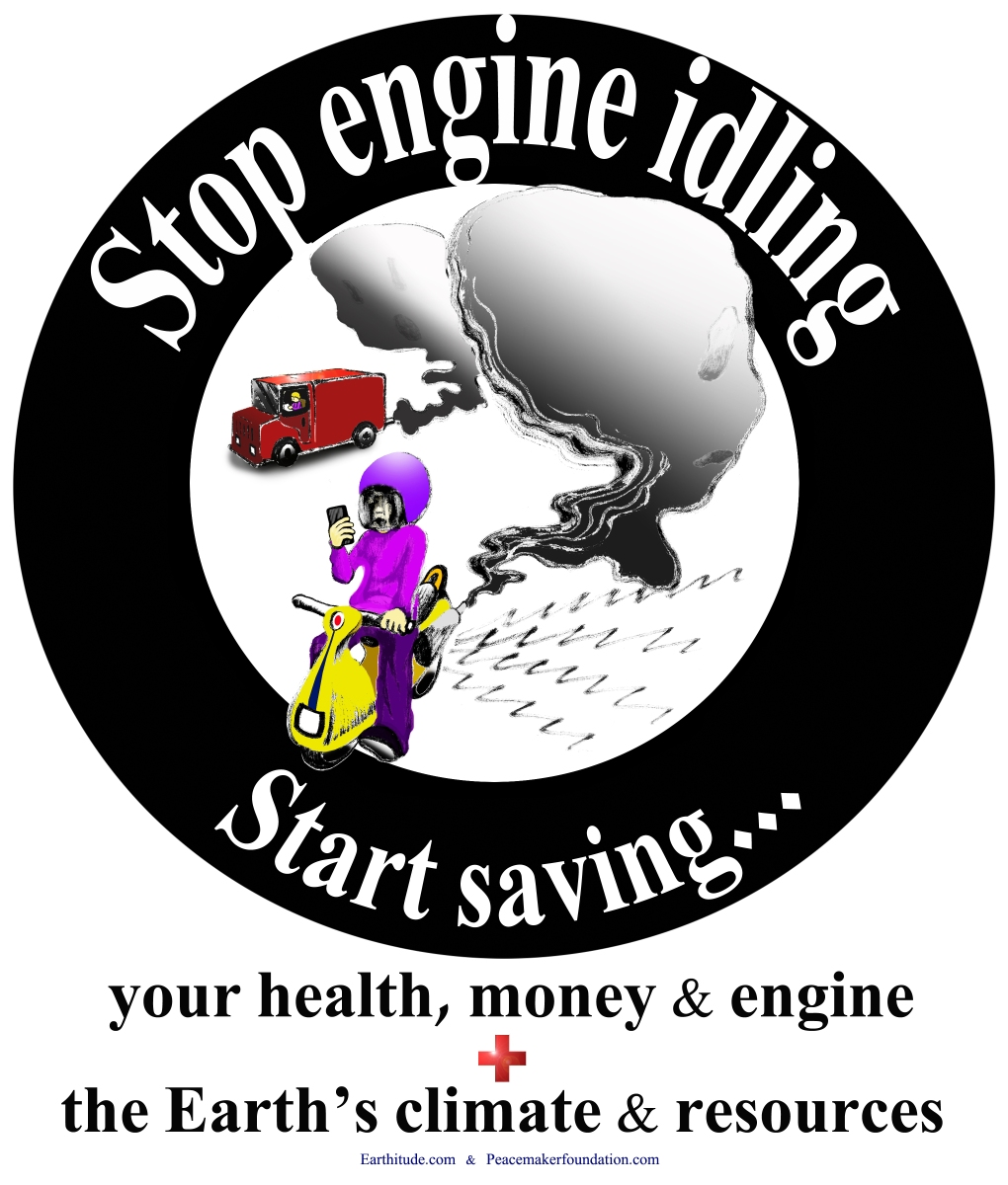 Turn off your engines sticker or poster