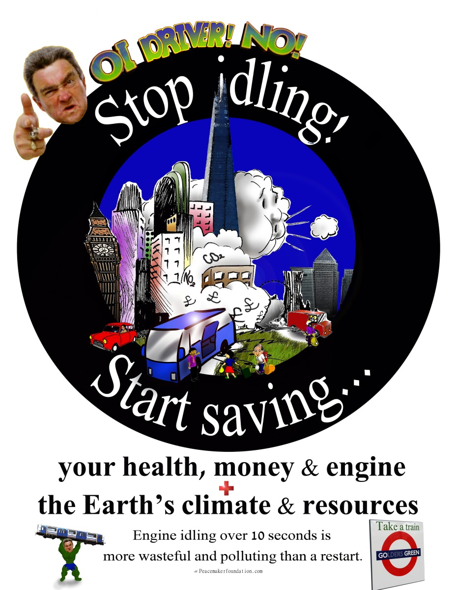 Stop Idling Start Saving UK 4 Bus