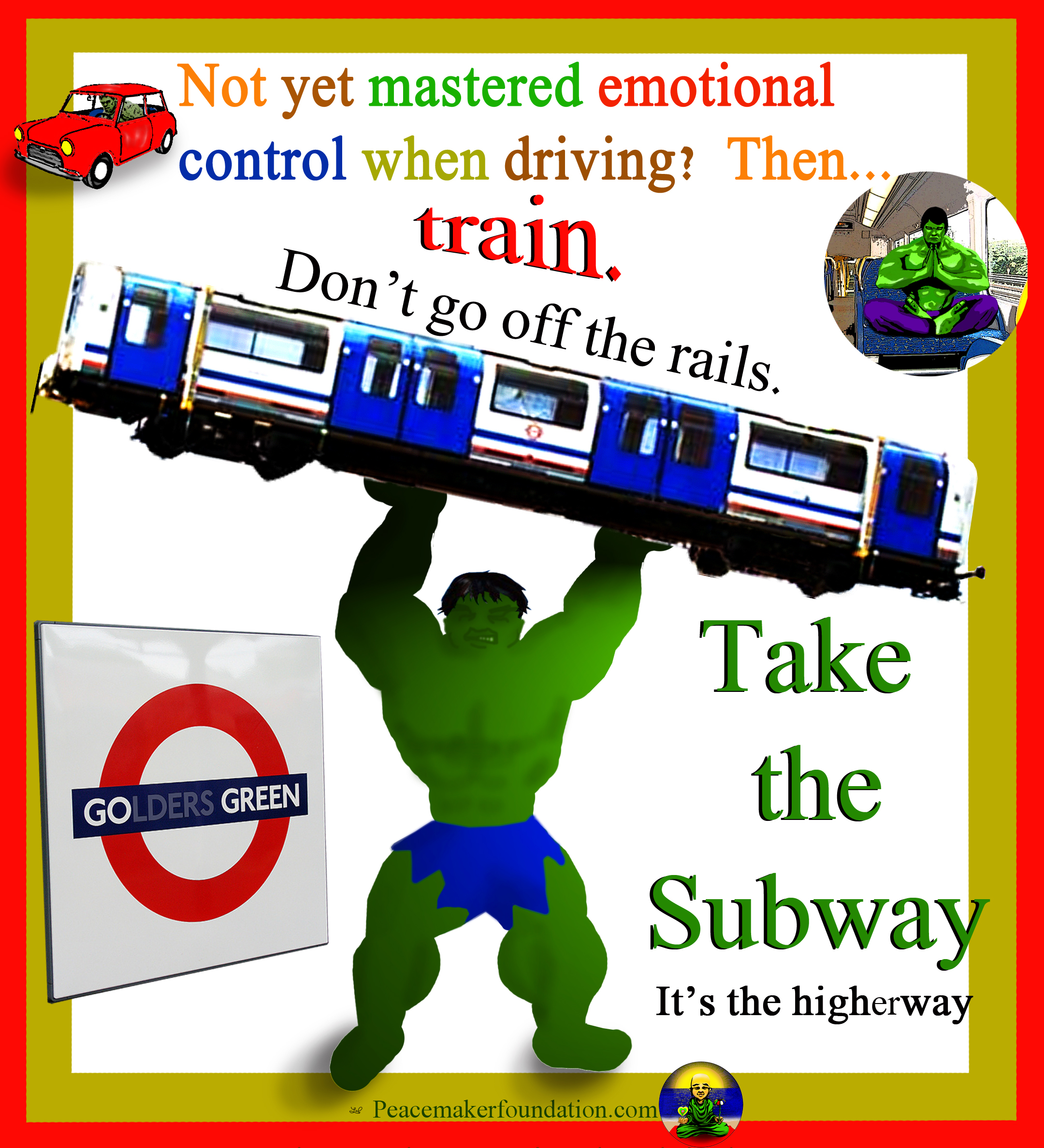 Go Green Take the Subway (For America), Hulk