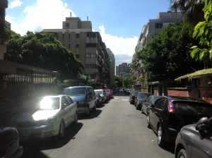 A lane in Taipei
